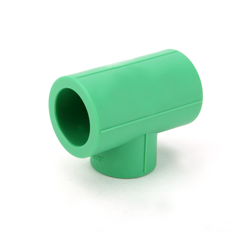 Casting Ppr Pipe Fittings Green Color , Iso9001 Ce Approval Ppr Reducing Tee